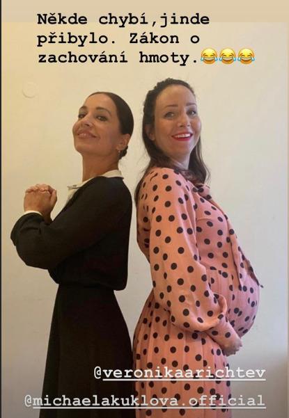 Veronika Arichteva má za sebou poslední divadelní představení pžed mateřskou dovolenou
