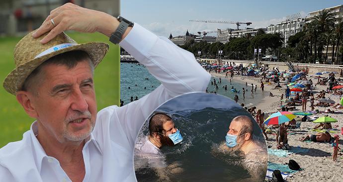 Češi by měli být připraveni změnit své cesty, míní premiér Andrej Babiš (ANO) u dovolených