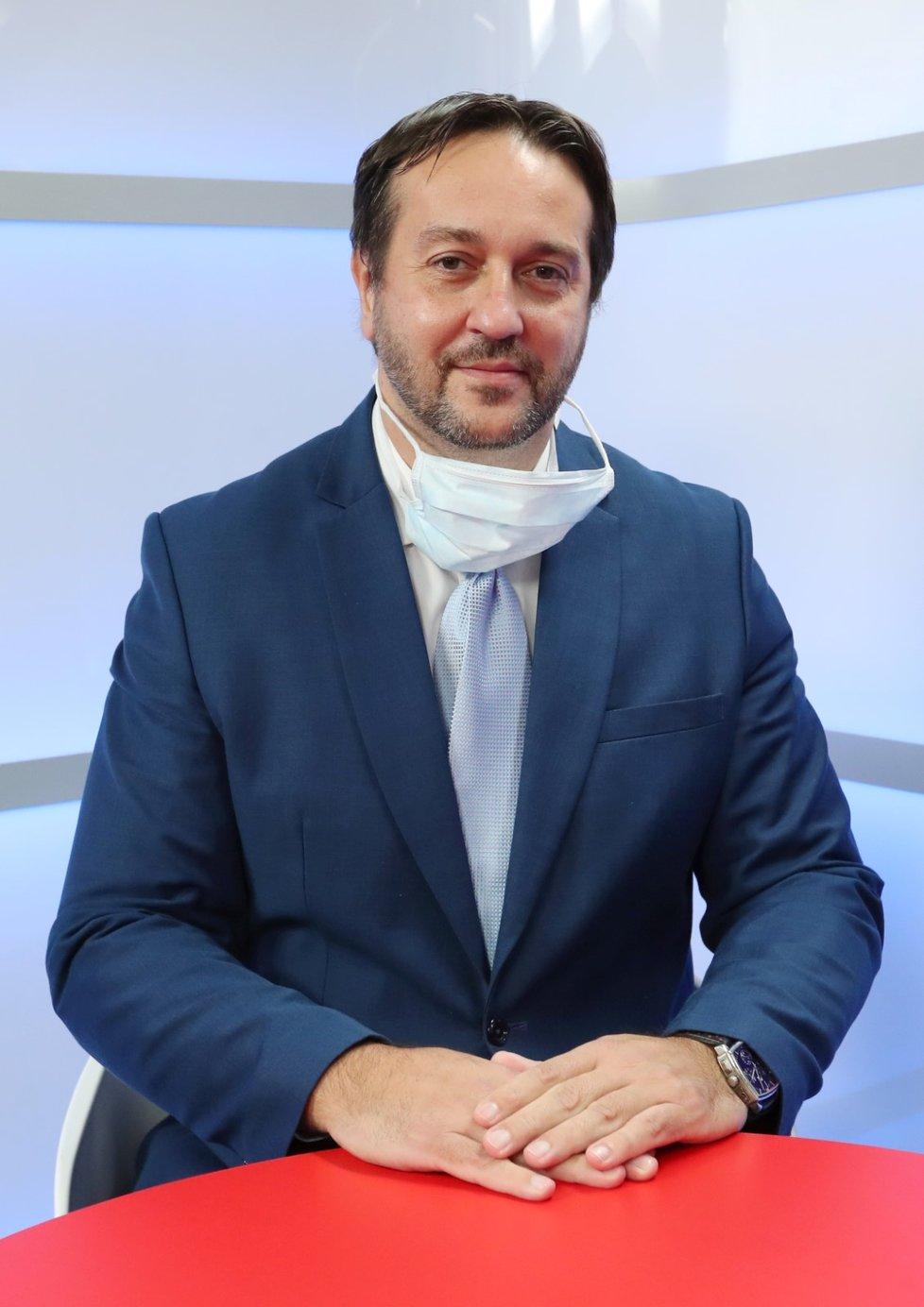 Epidemiolog Rastislav Maďar v Epicentru