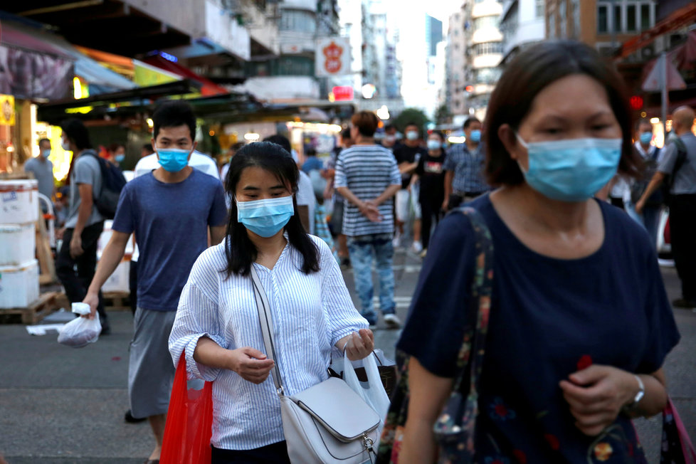 Koronavirus v Hongkongu.