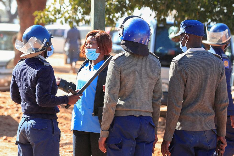 Koroanvirus v Zimbabwe.
