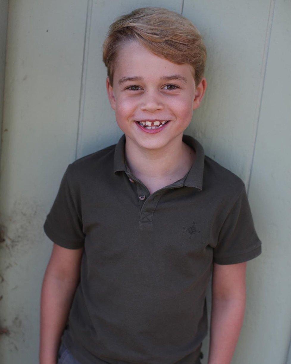 Prince George vyfotila k 7. narozeninám jeho maminka.