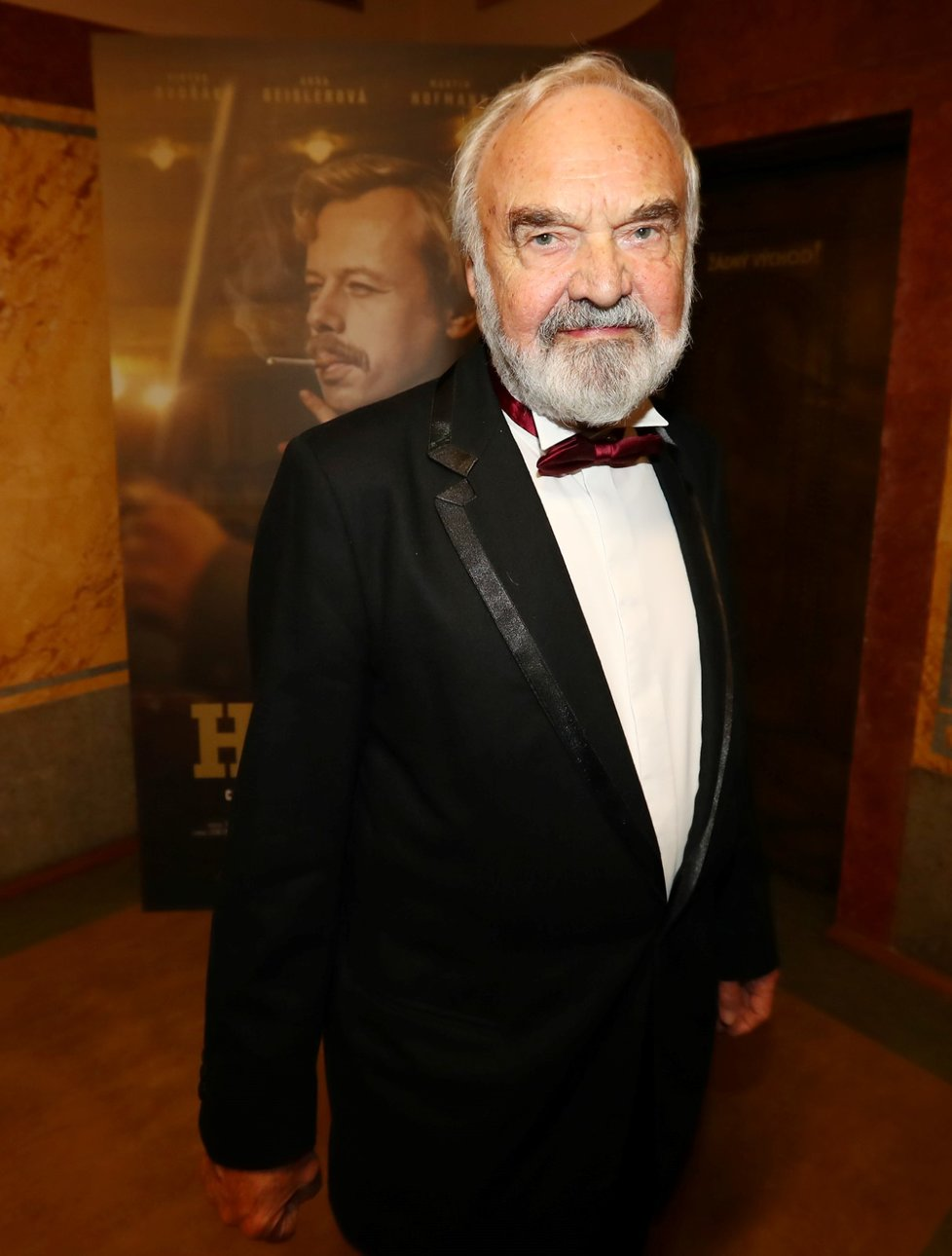 Zdeněk Svěrák na premiéře filmu Havel