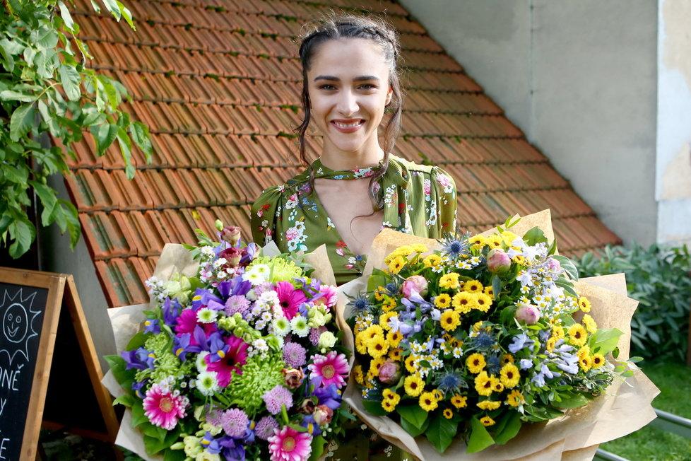 Eva Burešová oslavila sedmadvacáté narozeniny na place Slunečné.