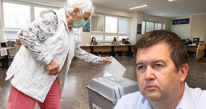 Do podzimních voleb nelze podle Hamáčka prosadit změny, které by umožnily hlasovat lidem v karanténě a současně zamezily rizikům přenosu covidu-19. Pak řek, že k tomu svolá pracovní skupinu. (22. 7. 2020)