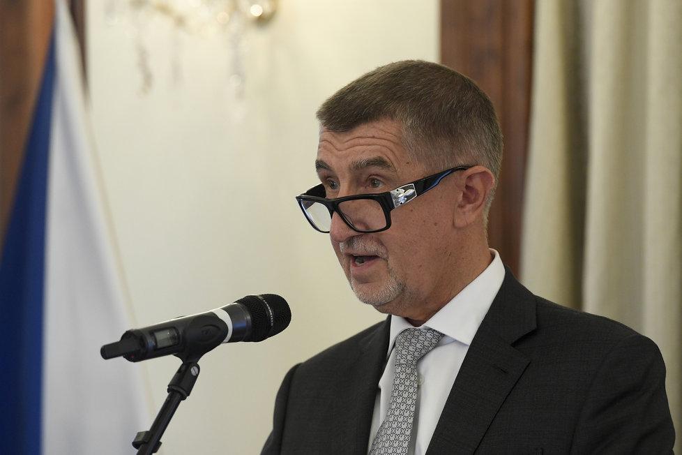 Premiér Andrej Babiš předal 22. července 2020 v Praze ceny Bezpečnostní rady státu za významný přínos v oblasti bezpečnostní politiky ČR pro rok 2020