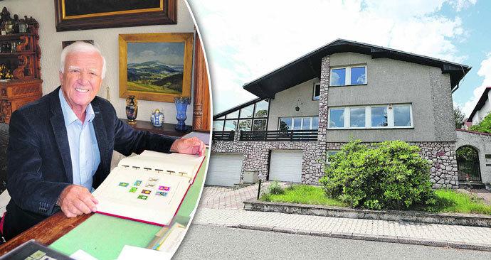 Vila slavného filatelisty je na prodej: Luxus od Pytlíčka jen za 5,5 milionu!