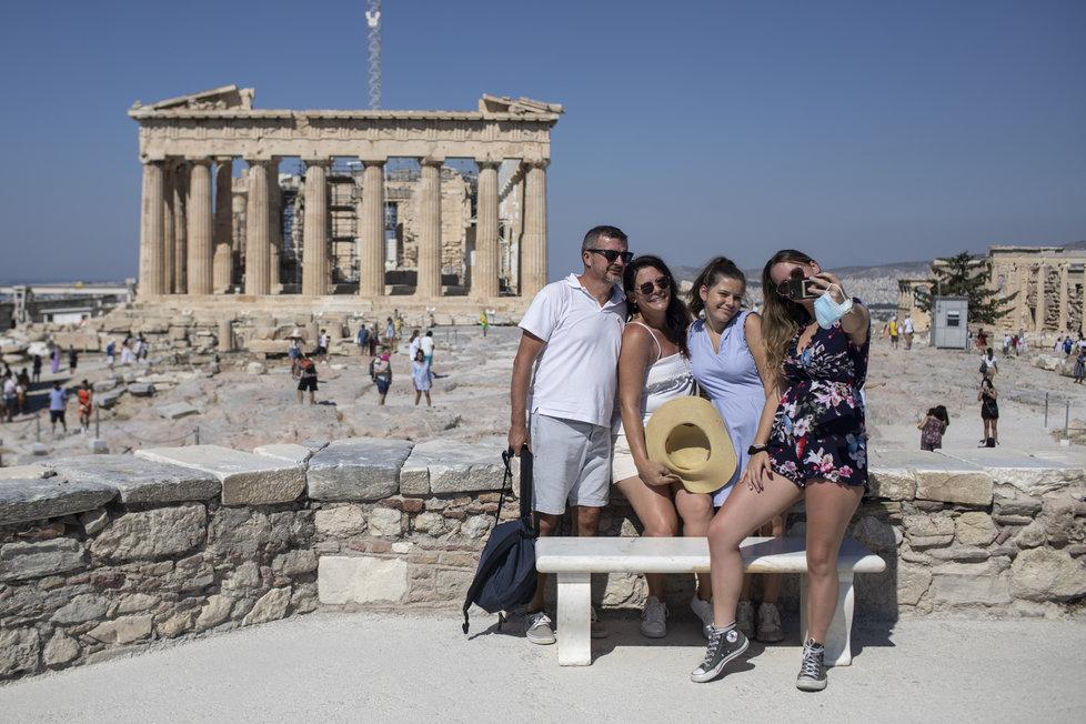 Řecko v době pandemie koronaviru (31.7.2020)