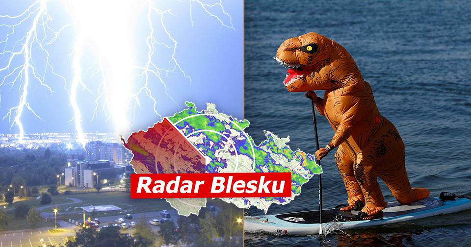 Česko zchladí bouřky.