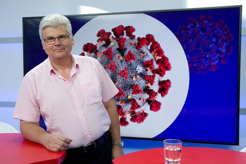 Ředitel FN motol Miloslav Ludvík v Epicentru 10.8.2020