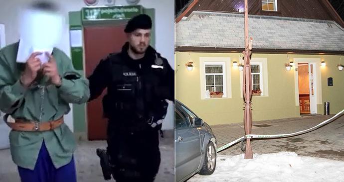 Vrah Lukáš odešel od soudu s trestem 22,5 roku. Zavraždil otce od rodiny, pokusil se ubodat i další dva lidi.