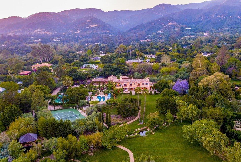 Bydlení Meghan a Harryho v kalifornském Montecitu