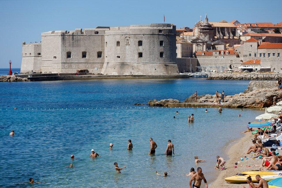 Pláže za časů pandemie v Chorvatsku