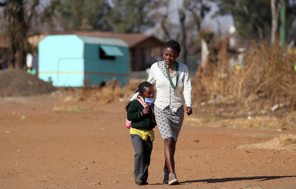Koronavirus v Jihoafrické republice.