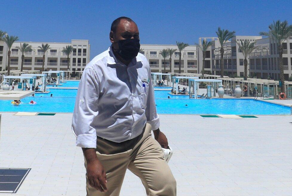 Hotel Jaz Aquaviva poblíž egyptské Hurghady.