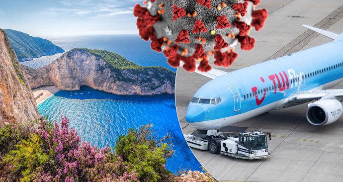 Do karantény po návratu z Řecka muselo celé letadlo. Nákaza se objevila u sedmi pasažérů