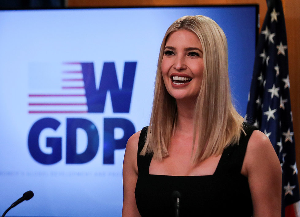 Ivanka Trumpová, dcera a poradkyně prezidenta USA Donalda Trumpa