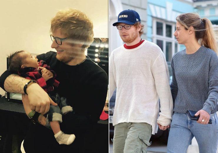 Ed Sheeran se stal tatínkem