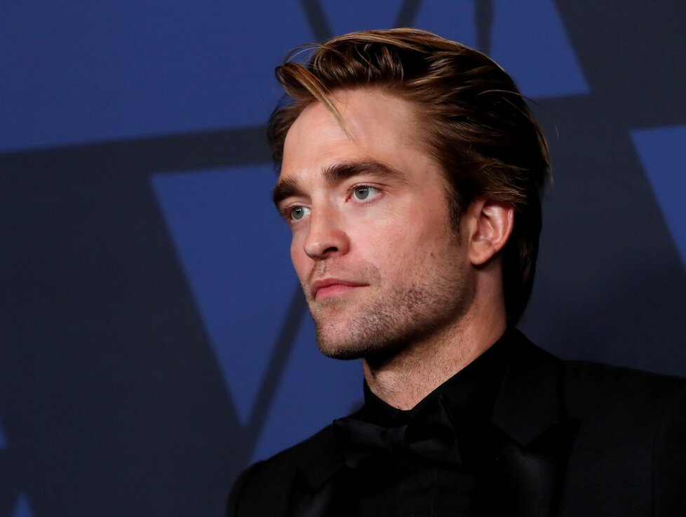 Americký herec Robert Pattinson