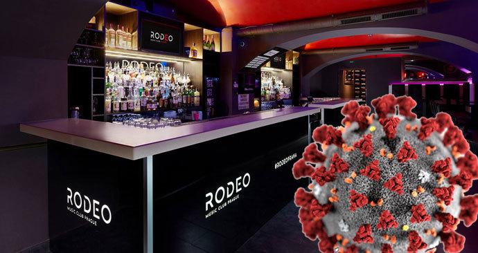 Pražský klub Rodeo, ve kterém se potvrdila nákaza u jednoho z návštěvníků párty, je zavřený.