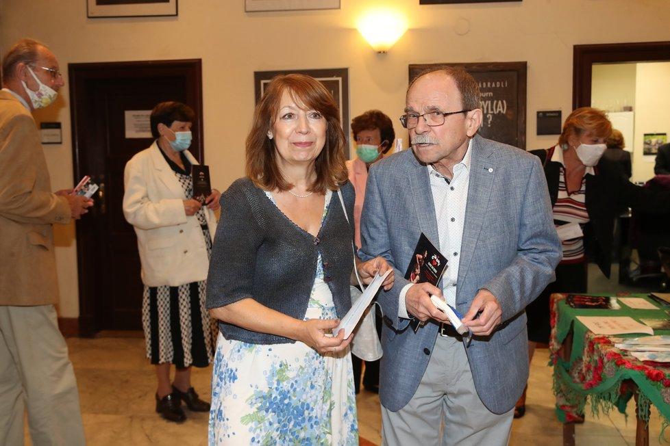 Jaroslav Uhlíř s manželkou Helenou