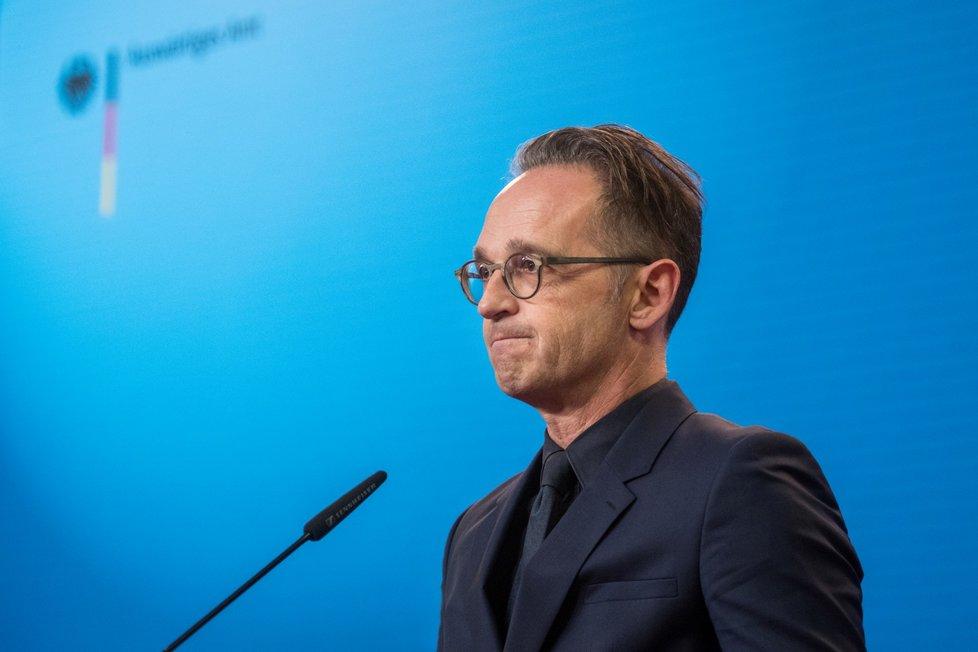 Spolkový ministr zahraničních věcí Německa Heiko Maas