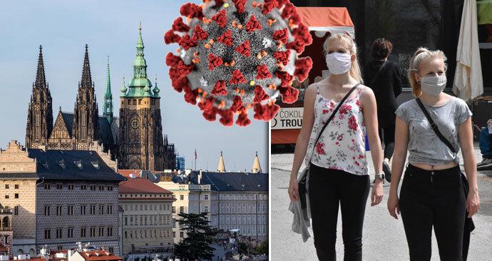 K Praze se do oranžové kategorie přidalo dalších pět okresů