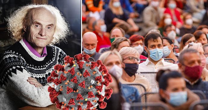 """""""Covid je na nás hodný, pandemie lidstvo nevyhubí,"""" říká vědec Flegr"""