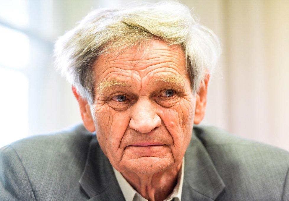 Exšéf oddělení mostů Antonín Semecký u Obvodního soudu pro Prahu 7 dne 15. září 2020.