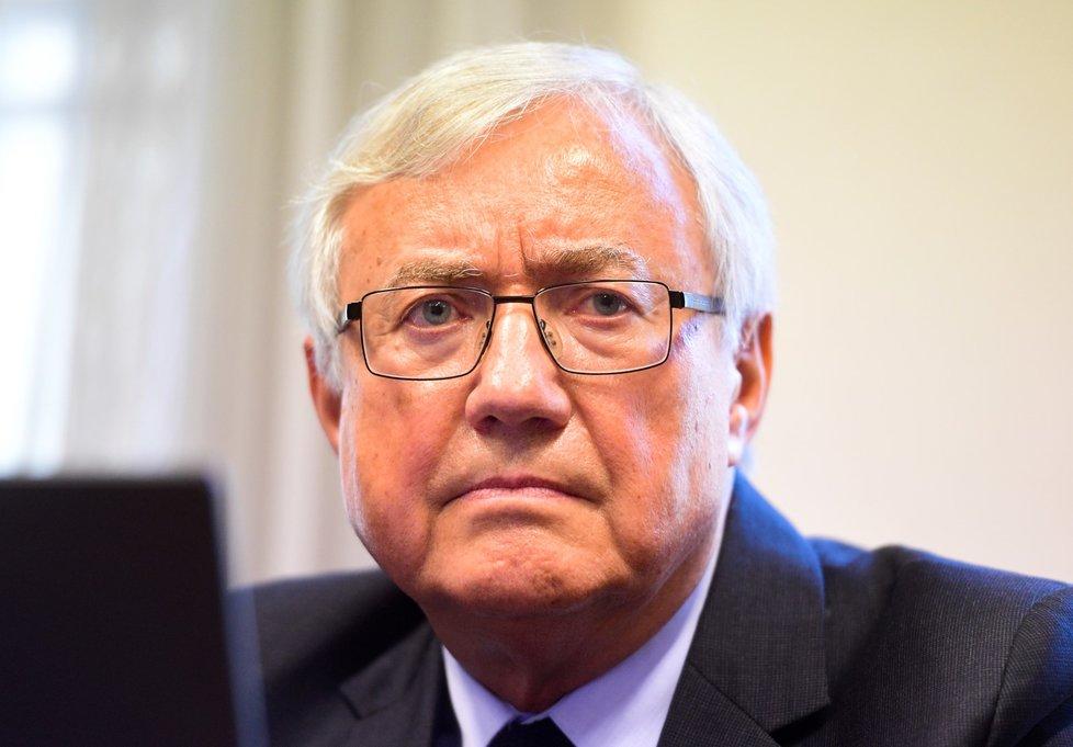 Autor trojské lávky Jiří Stránský stanul 15. září 2020 před senátem Obvodního soudu v Praze.