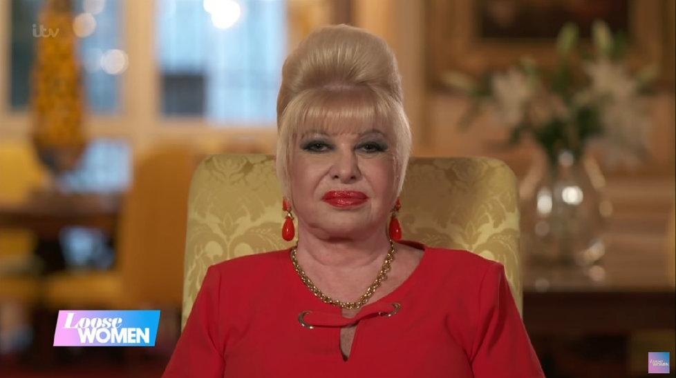 Ivana Trumpová v rozhovoru pro ITV