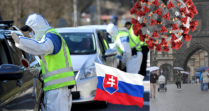 Od pátku platí omezení při cestování na Slovensko, je třeba mít negativní test nebo nastoupit do karantény
