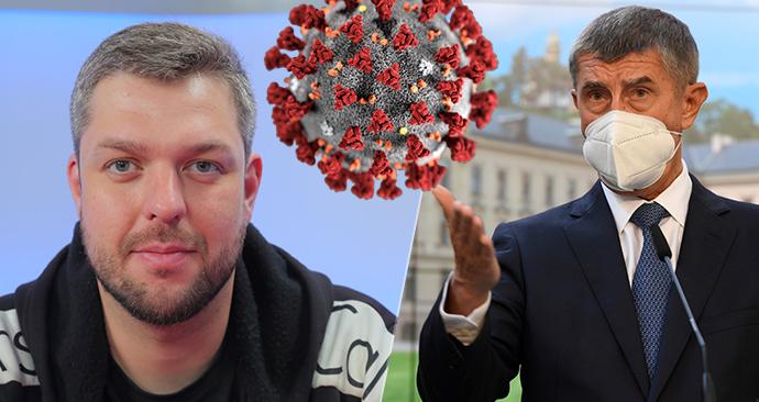 Český podnikatel a propagátor roušek Petr Ludwig má covid-19