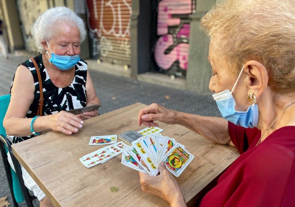 Koronavirus ve Španělsku. (20. 9. 2020)