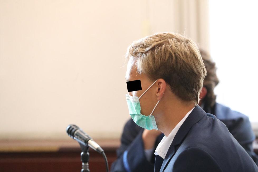 Jiří N. u soudu 23. září 2020.