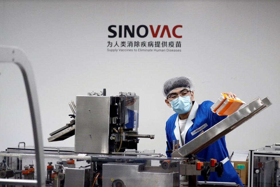 Laboratoř čínské společnosti Sinovac