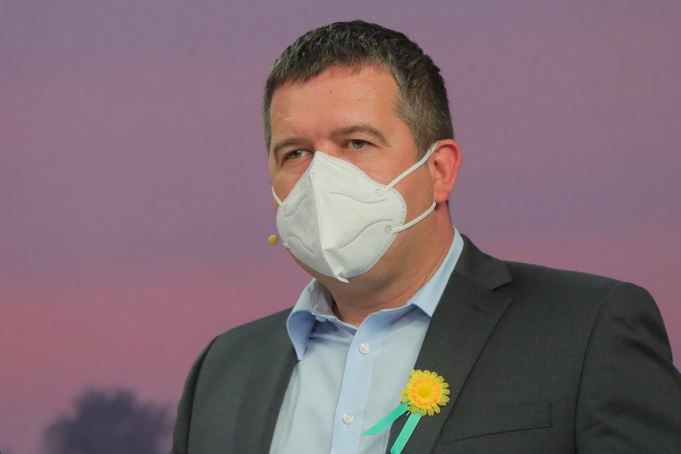 Superdebata Blesku (30. 9. 2020):Jan Hamáček (ČSSD)