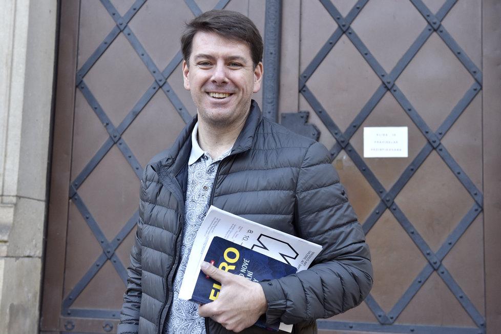 Ve Středočeském kraji začíná povolební vyjednávání koalice. Na fotografii ekonomický expert ODS Jan Skopeček (4.10.2020)
