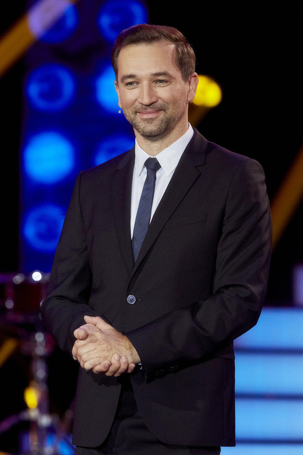 Ondřej Sokol jako moderátor Tváře