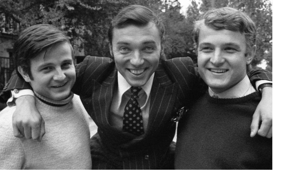 Karel Gott s bratry Štaidlovými