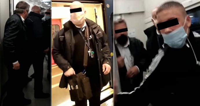Vlakvedoucí Českých drah napadl v Břeclavi cestujícího, který neměl správně nasazenou roušku. Incidentu předcházela rozepře dvou cestujících.