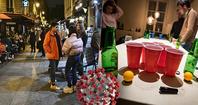 Paříš? Paříž! Poslední party mladých před zákazem vycházení: Ode dneška už tohle nemohou