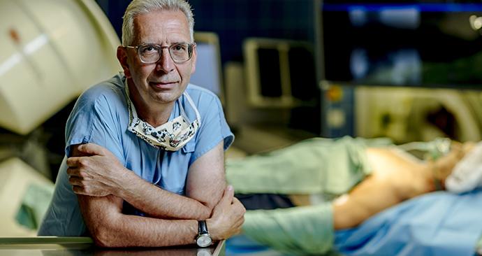 Prof. MUDr. Petr Neužil, primář Kardiologického oddělení Nemocnice Na Homolce
