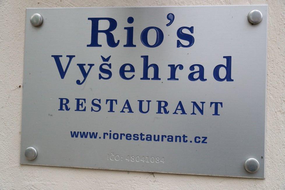 Restaurace Rio's na Vyšehradě, 23. října 2020.