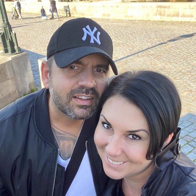 Radek Kašpárek s manželkou Andreou