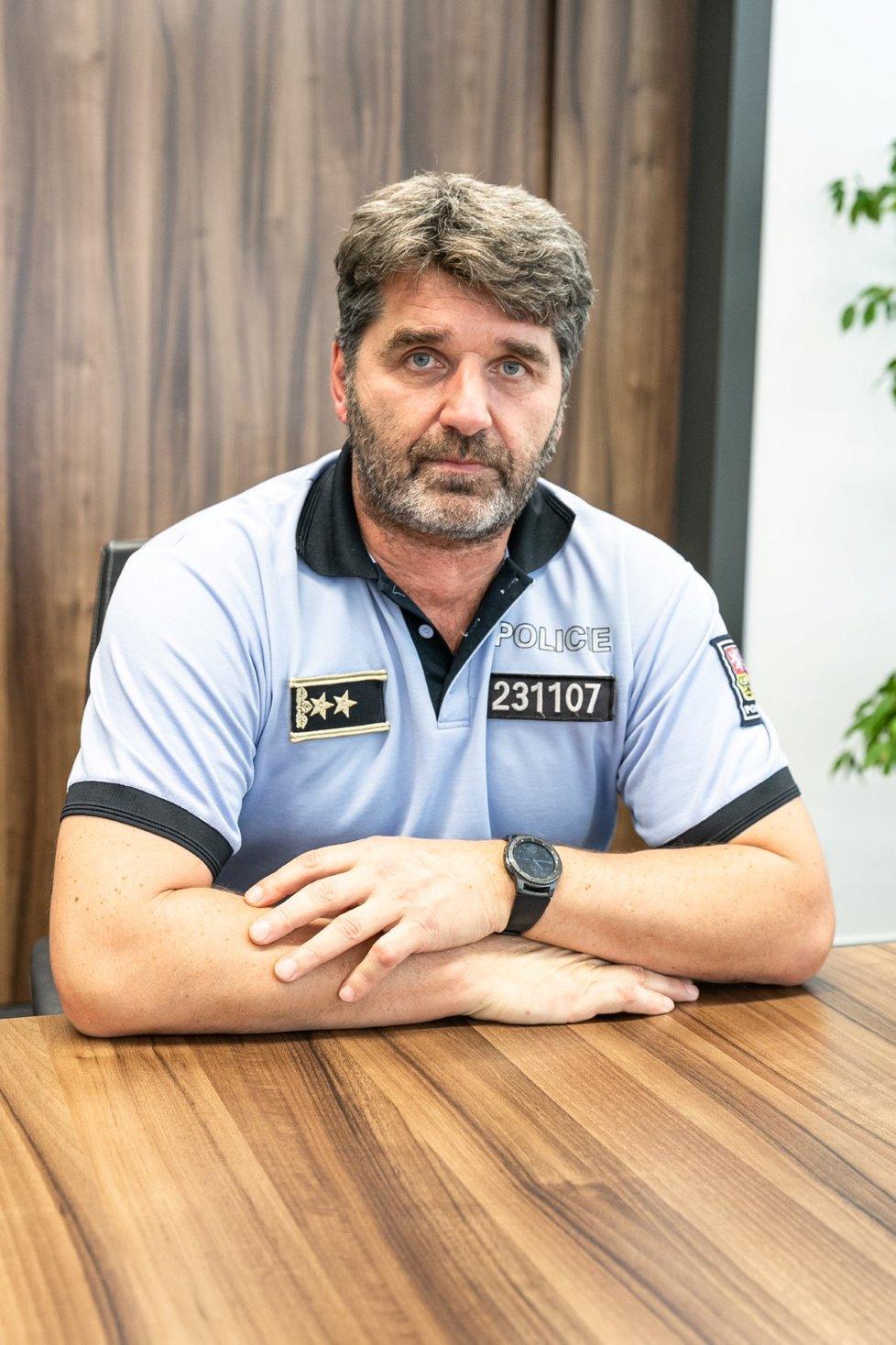 Policejní prezident Jan Švejdar.