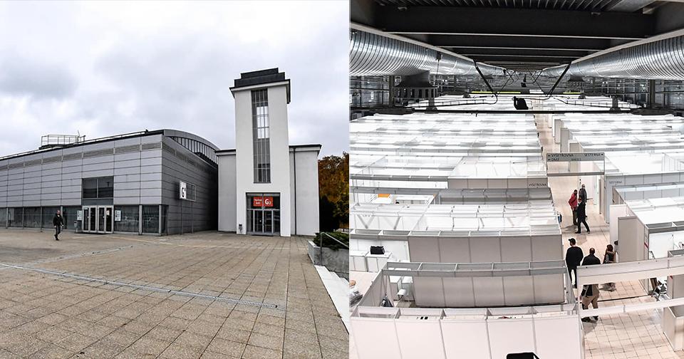 Brno předalo do užívání záložní nemocnici na výstavišti.