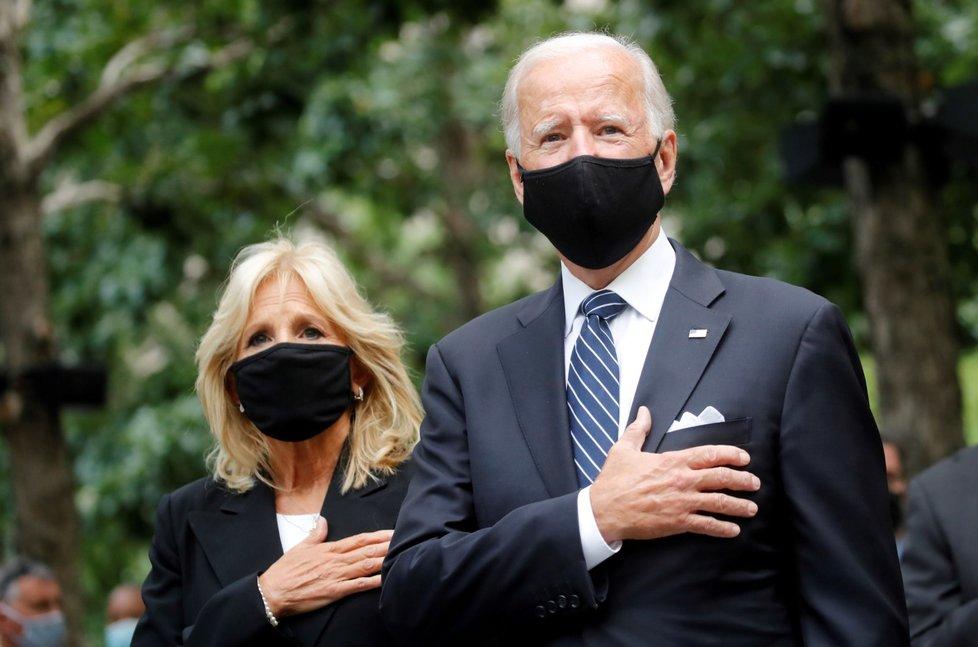 Joe Biden s manželkou Jill během kampaně v roce 2020.