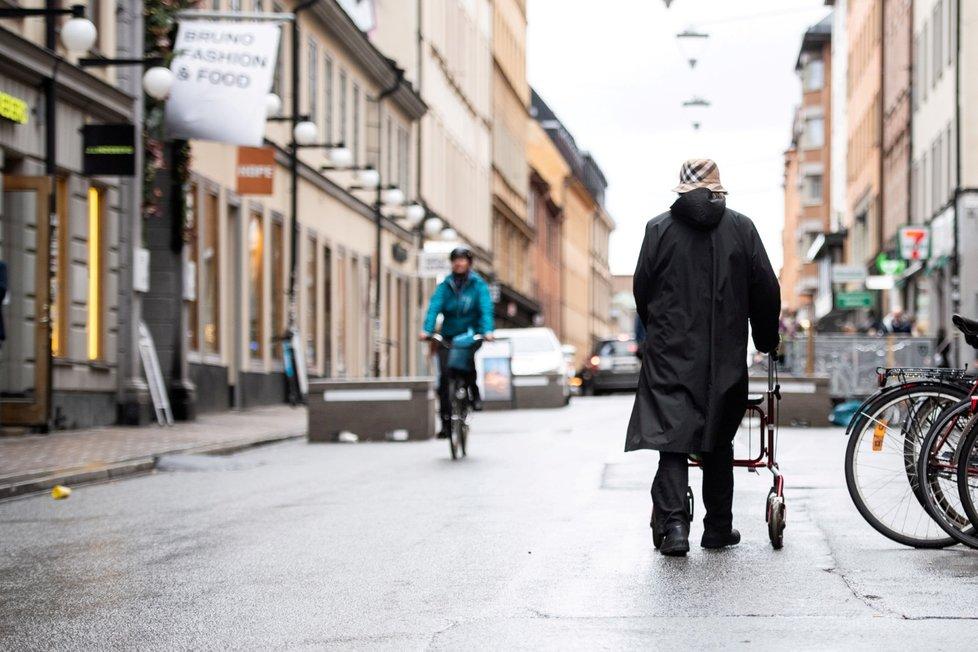 Švédsko v době pandemie.