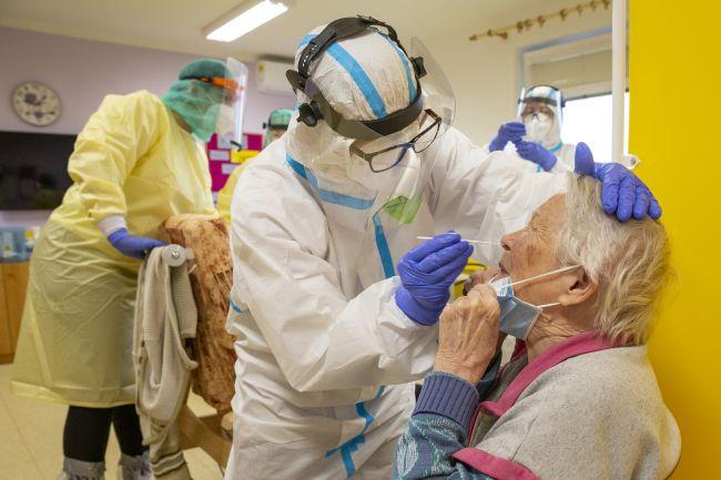 Testování seniorů v Kroměříži